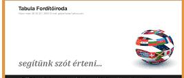 fordítóiroda